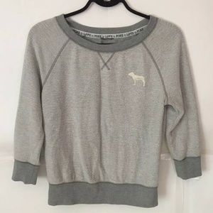 Victoria's Secret PINK Women's XS Gray Pull Over